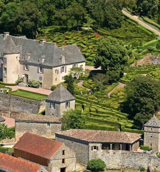 Jardines de Marqueyssac en Francia. Foto Archivo