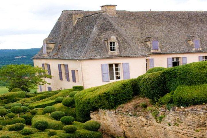 Jardines de Marqueyssac en Francia. Foto Flickr.