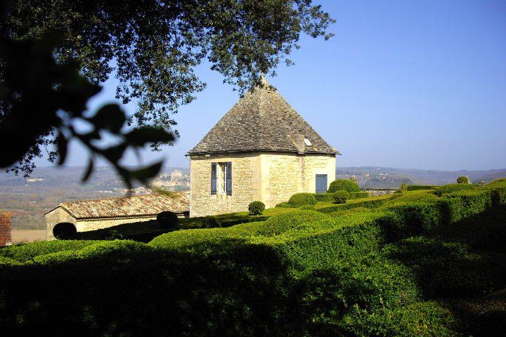 Jardines de Marqueyssac en Francia. Foto Xavier Fourcrier.