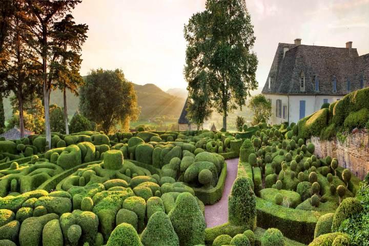 Jardines de Marqueyssac. Foto Archivo.