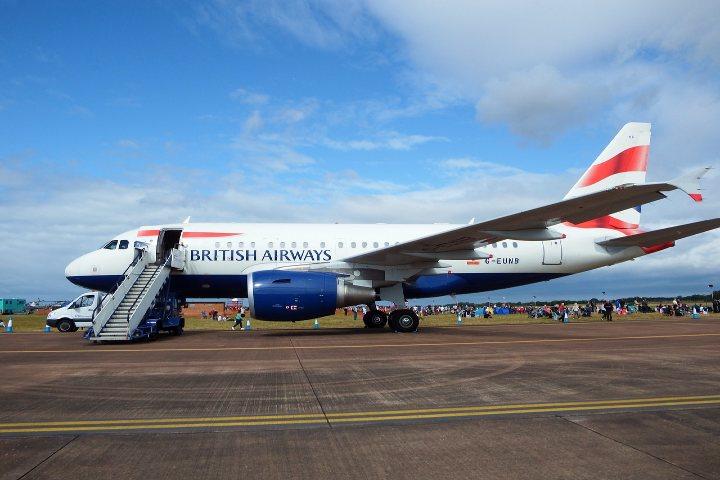 Los pilotos más famosos de British Airways. Foto Steve Richardson