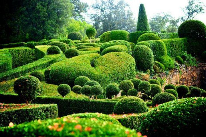 Los románticos jardines de Marqueyssac. Foto Flickr.