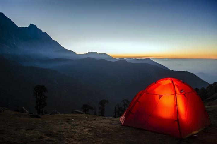 Lugares para un camping en el mundo. Foto Anurag Kaushik.