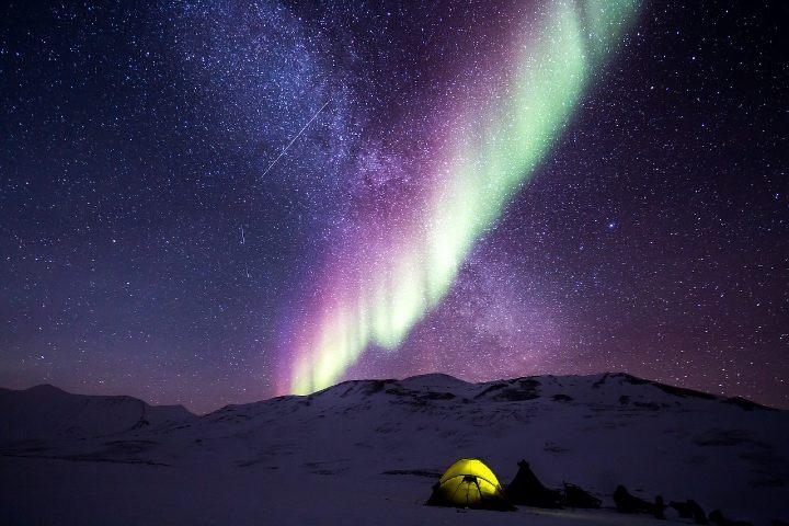 Lugares para un camping en el mundo. Foto Noel Bauza.