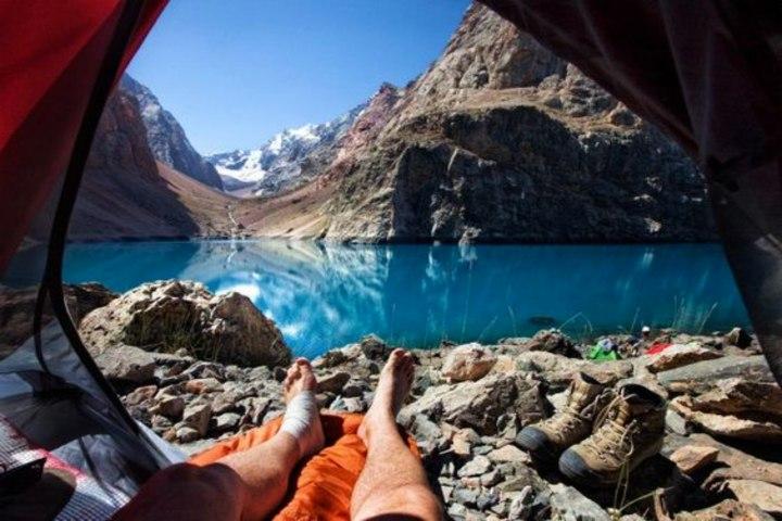 Lugares para un camping en el mundo. Foto Topito.