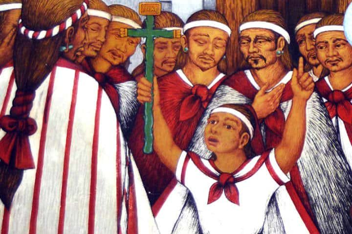 Niños martires tlaxcala. Foto Diosesis tlaxcala.