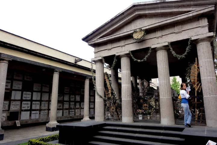 Mausoleo de Benito Juárez. Foto: Omar Barcena.