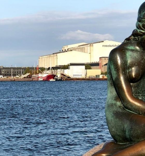 Sirenita de Copenhague. Foto: Viajar Dinamarca.