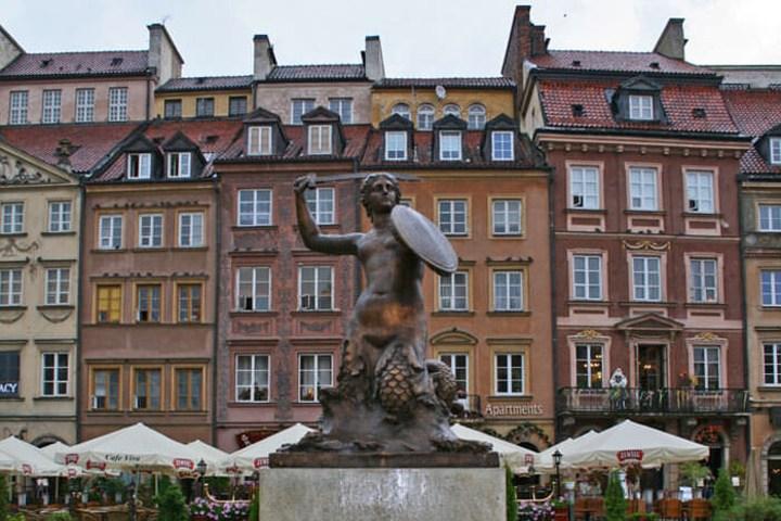 Sirenita de Varsovia. Foto_ Que ver en el mundo.