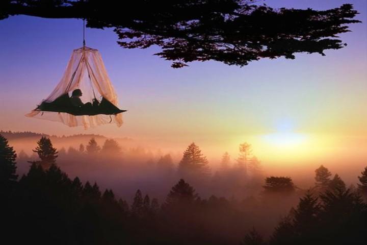 Totalmente en las alturas es dónde podrás descansar y ver un atardecer hermosos. Foto Traveler.