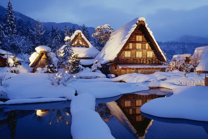 destinos para visitar en invierno foto lugares de nieve