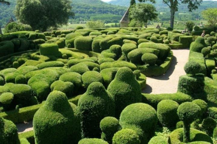 jardines de Marqueyssac en Francia. Foto Canal viajes