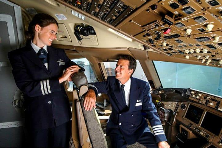 Volaron juntos por última vez.. Foto: Archivo.