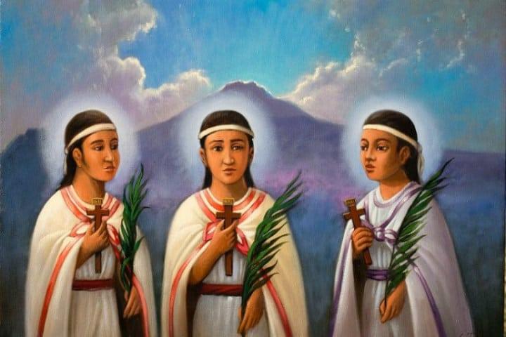 Niños mártires de Tlaxcala. Foto Quadratrin Tlaxcala