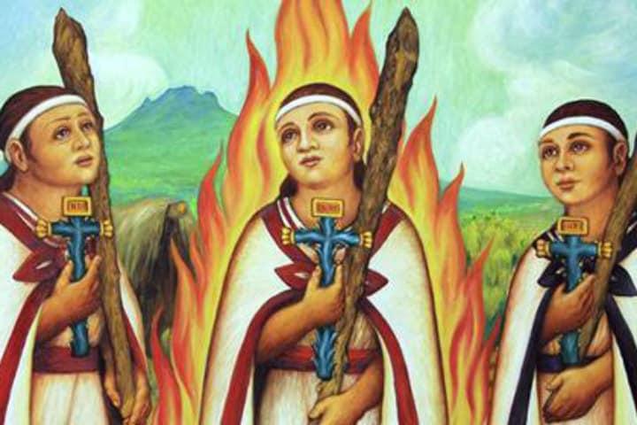 Niños mártires de Tlaxcala. Foto Estado 29