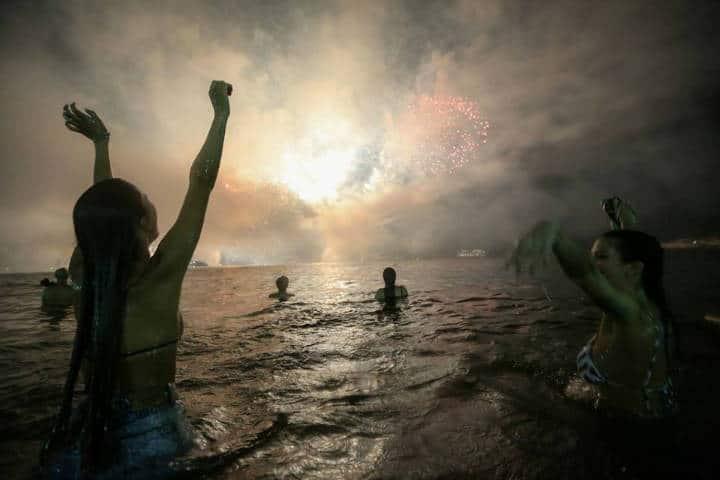 Año nuevo Rio Janeiro Foto Mario Tama _ Getty Images