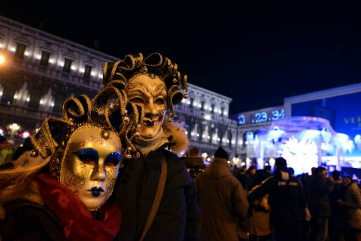 Año nuevo Venecia Foto Adipiscor