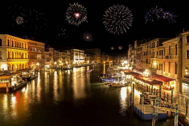 Año nuevo Venecia Foto The World