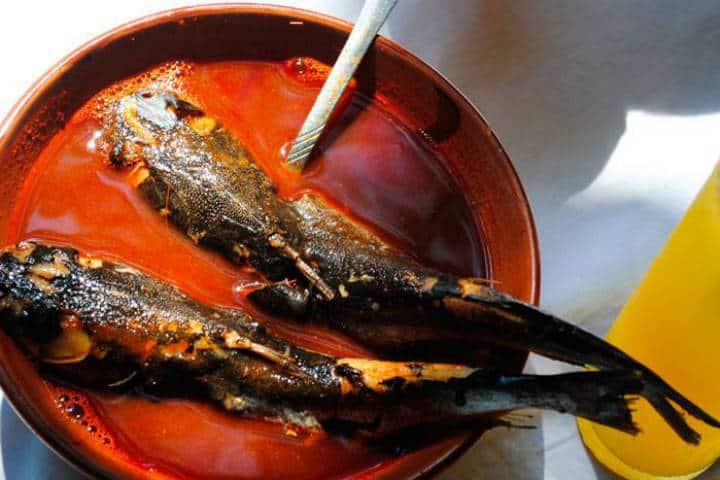 Delicias del Mar Caldo cuatete Foto El Ciruelo