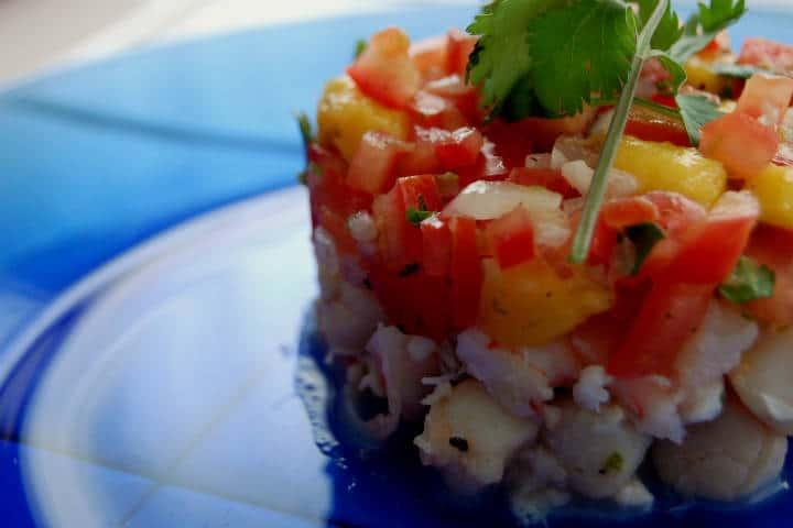 Delicias del mar Ceviche Fot Jpellgen