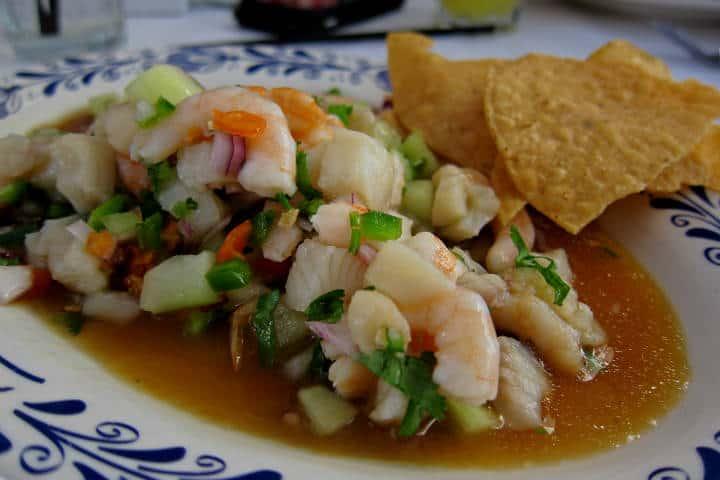 Delicias del mar Ceviche Foto archivo el Souvenir