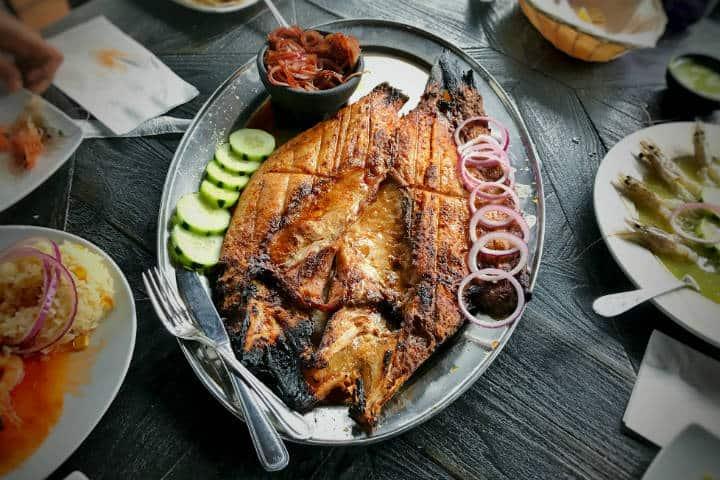 Delicias del mar Pescado Zarandeado Foto TTSeng