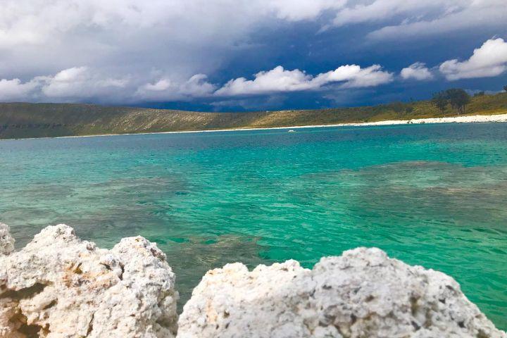 Espejo del Poder Foto: Laguna Alchichica en Puebla