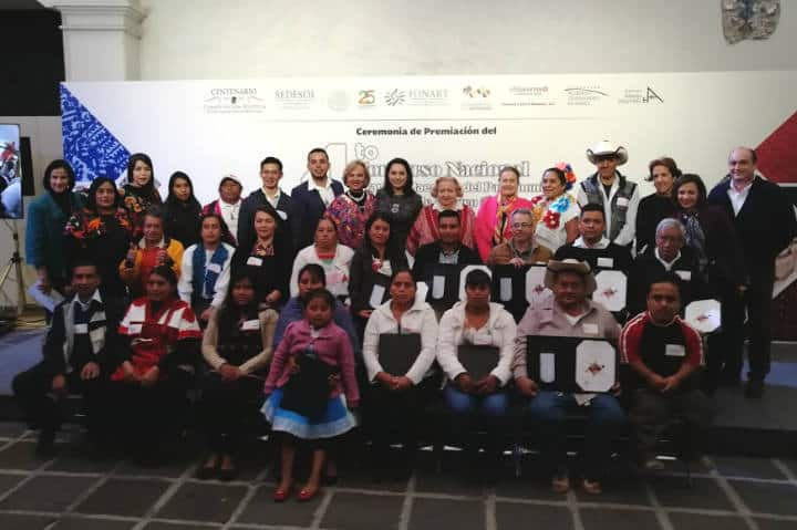 Fonart Premio Grandes Mestros Patrimonio Artesanal Mexico 1