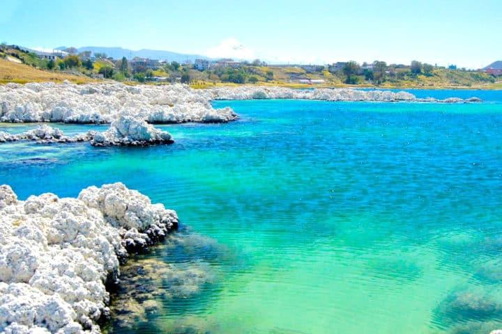 un pequeñi mar en Alchichica Foto Sinapsis MX