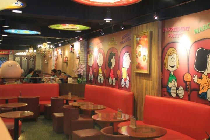 Restaurantes temáticos. Foto YouTube