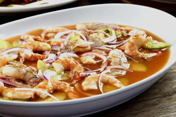 Delicias del mar aguachile Foto Recetas Mexicanas