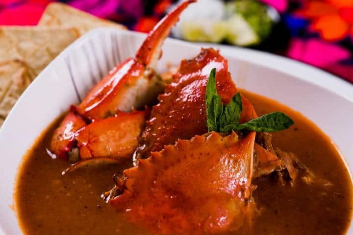 delicias del mar Sopa de Jaiba foto Cocina y Comparte