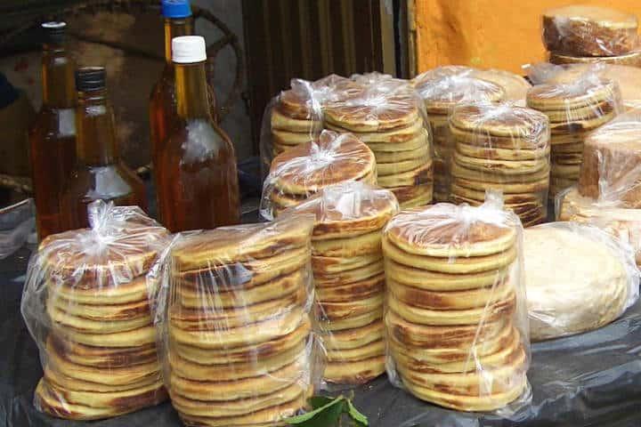 Arepas de trigo y miel Foto Rufino Uribe
