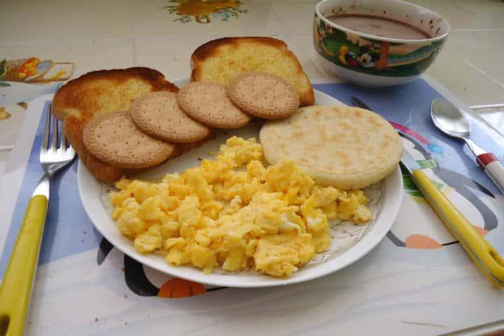 Arepas desayuno Foto Diego HausOf