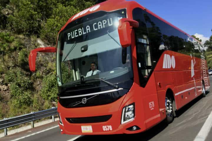 Autobus ADO Foto Transportes y Turismo