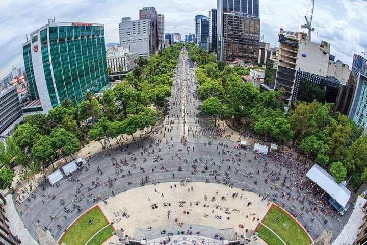 CDMX Paseo de la Reforma. Foto CDMX Gob.