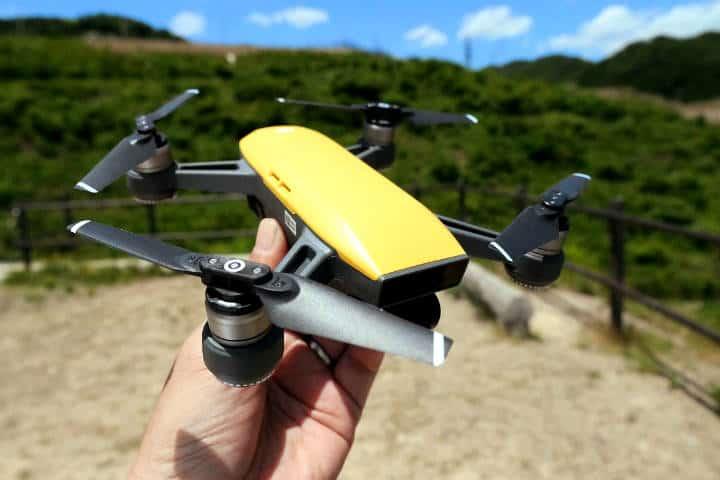 Drone Spark Foto Gigazine