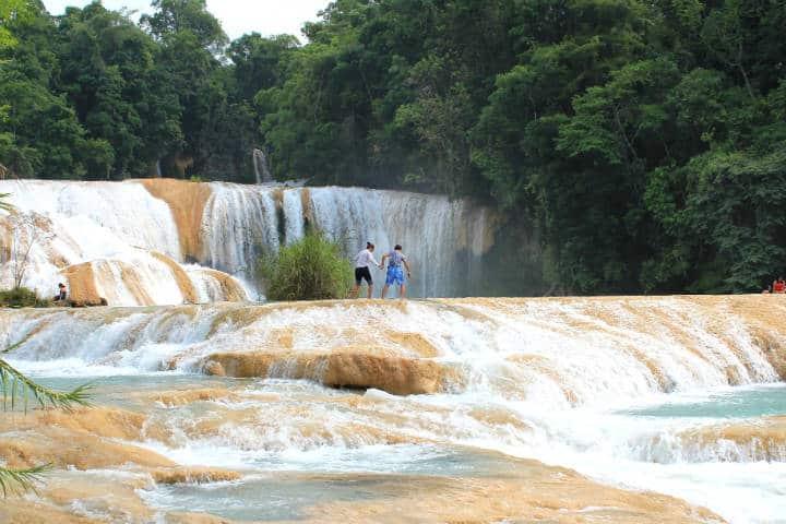 Escapadas Románticas Mi Escape Cascadas de Agua Azul Chiapas Foto Arian Zwegers