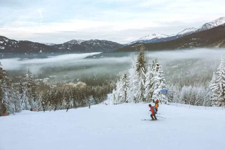 Mejores lugares para esquiar en el mundo. Foto. H W 9