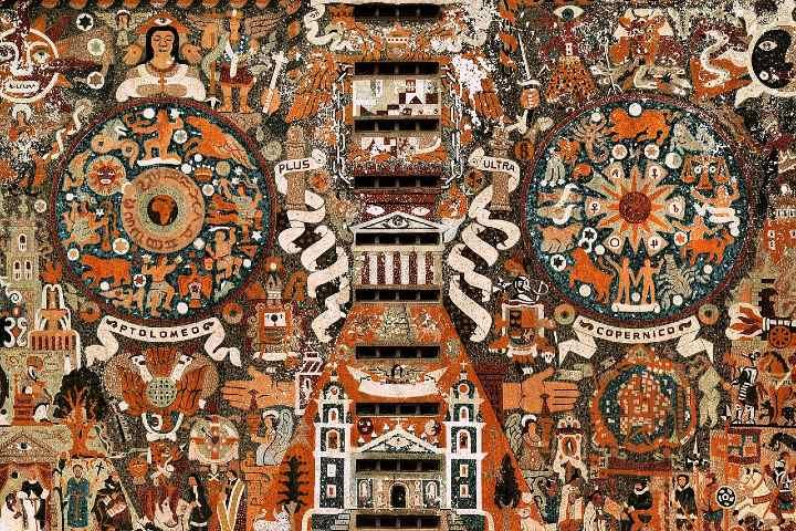 Recorre sus hermosos murales. Foto Javier Benítez
