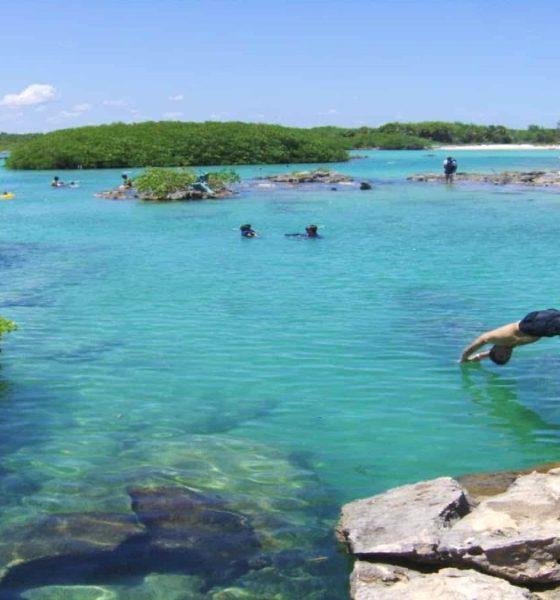 Riviera Maya, Caleta Yal Kú. Foto Soyplayense