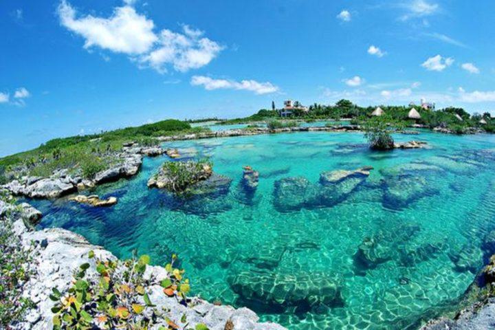 Riviera maya, Caleta Yal Ku . Foto Flickr.