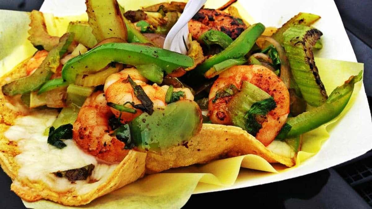 Tacos gobernador. Foto Kirk K.