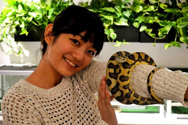 Tokyo Snake Central Foto Cafe & Snake 18