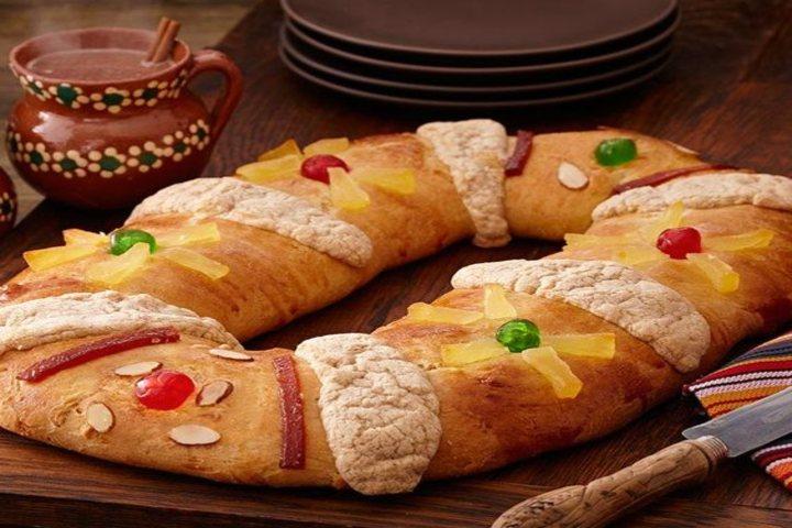 Tradicional rosca de Reyes. Foto McCormick Spice.