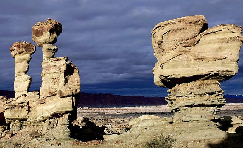 Foto Archivo:  El Valle de la Luna está en Argentina