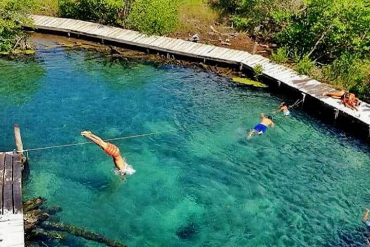 Holbox Cenote Yalahau Foto En Holbox