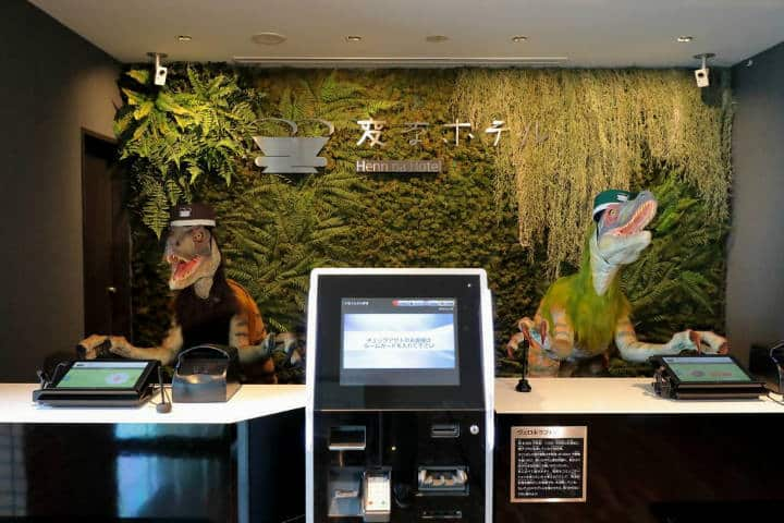 Hoteles curiosos Henn na Foto Booking 1