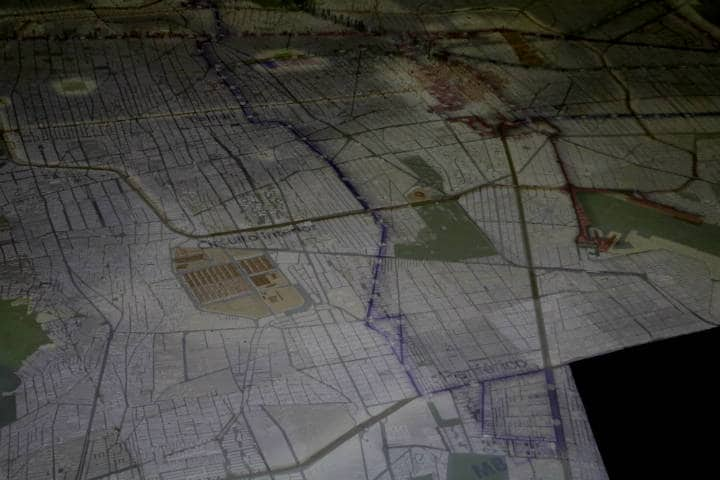 Maqueta de la Ciudad de Méixco Foto Fidel Enriquez 3