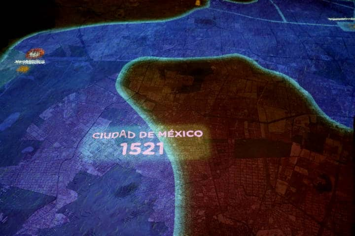 Maqueta de la Ciudad de Méixco Foto Fidel Enriquez 4